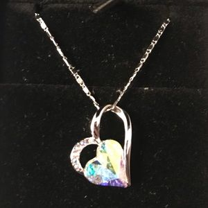 Sivery Crystal Nacklace